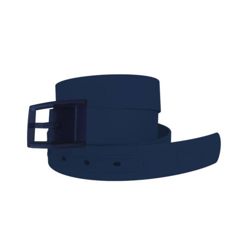 Classic Navy Belt with Navy Buckle Combo