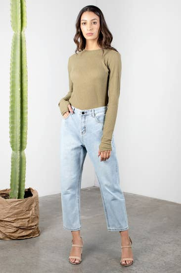 The Brianne Top - Olive