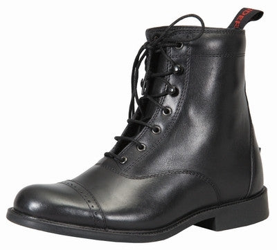 TuffRider Ladies Lace Up Baroque Paddock Boot