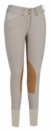 Equine Couture Children's Coolmax Champion Breeches- Front Zip