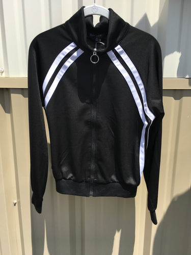 Zip up track Jacket