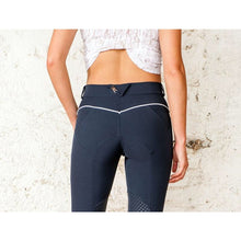 For Horses Pat Knee Patch Breech - Grey