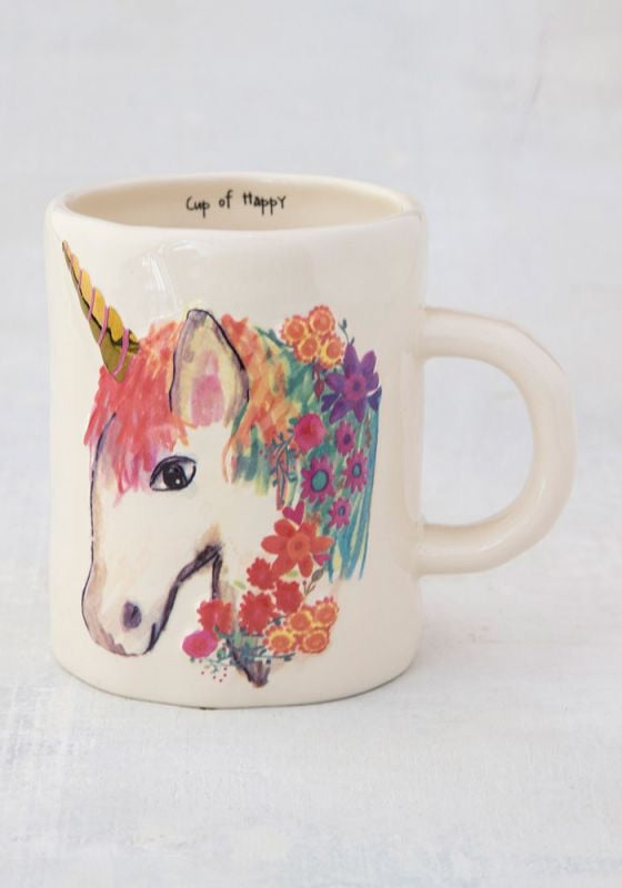 Unicorn Embossed Mug