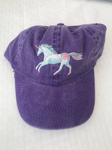 Kids Unicorn Baseball hat