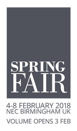 Back on the road at Spring Fair NEC 4-8 Feb 2018