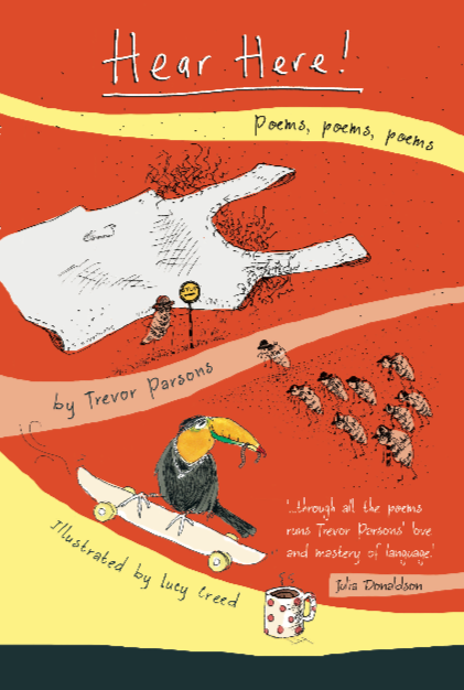 'Hear Here!' book of poems by Trevor ParsonsPoet & PainterBooks