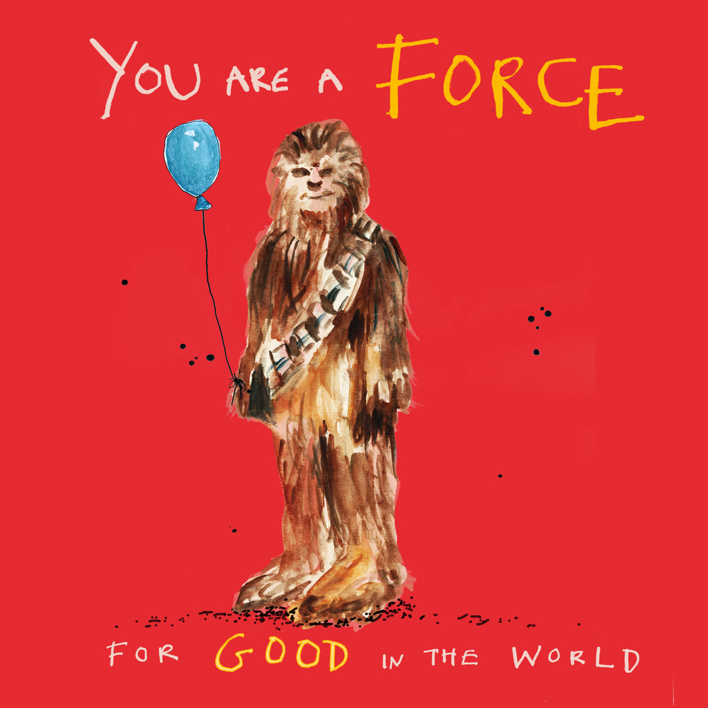 'Force For Good' Greetings Card