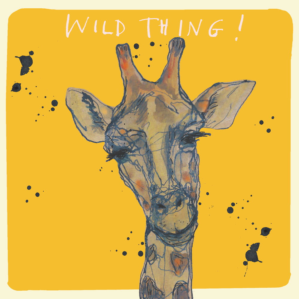 'Wild Thing' Greetings, Studio Card