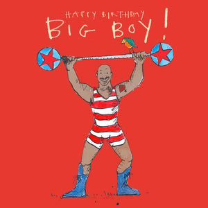 'Happy Birthday, Big Boy!' Birthday Card