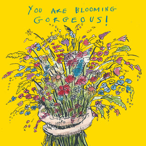 'Blooming Gorgeous' Greetings Card