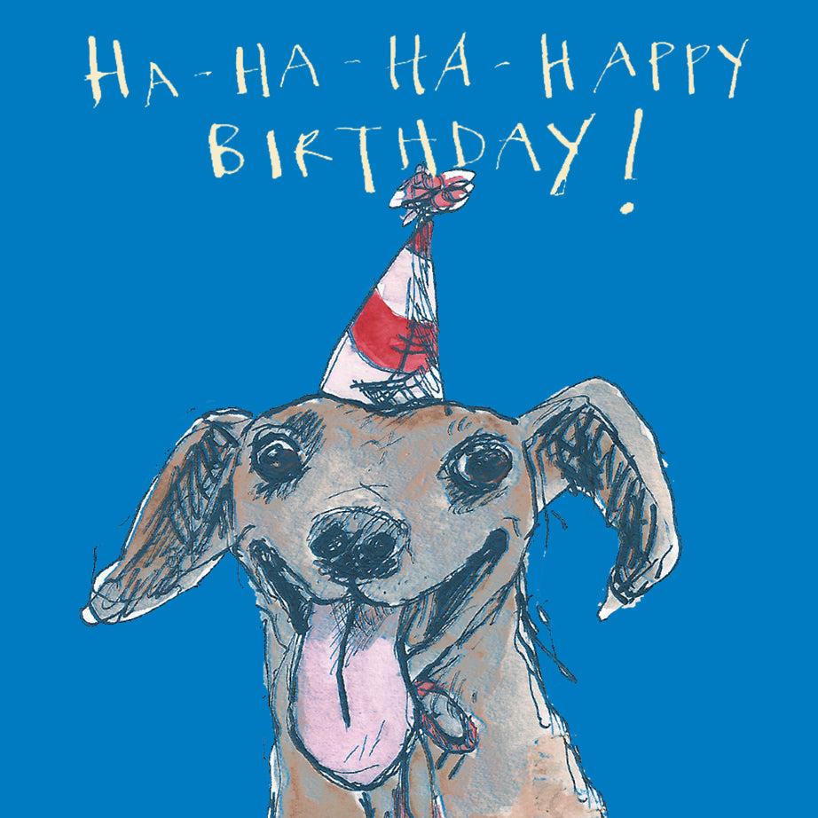 'Ha-ha-ha-ha Happy Birthday' Birthday Card