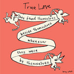 True Love/Cupid Card FP104Poet & PainterCards
