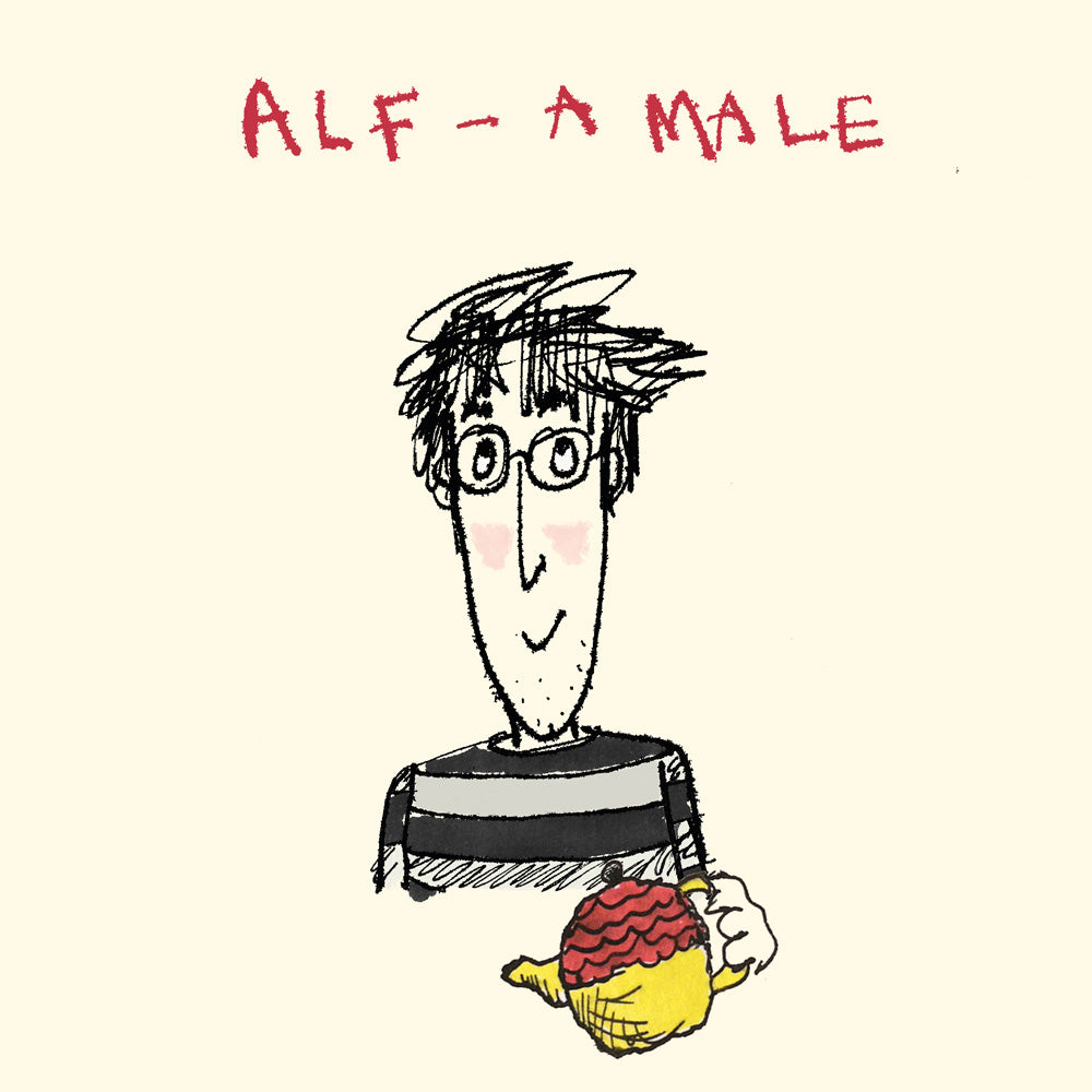 Alf - A male Card FP158Poet & PainterCards