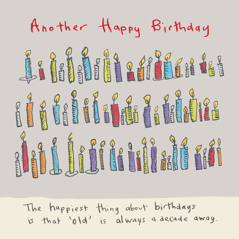 Another Happy Birthday Card FP159Poet & PainterCards