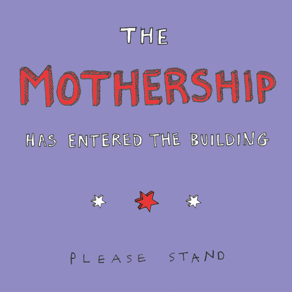 Mothership Card FP168Poet & PainterCards