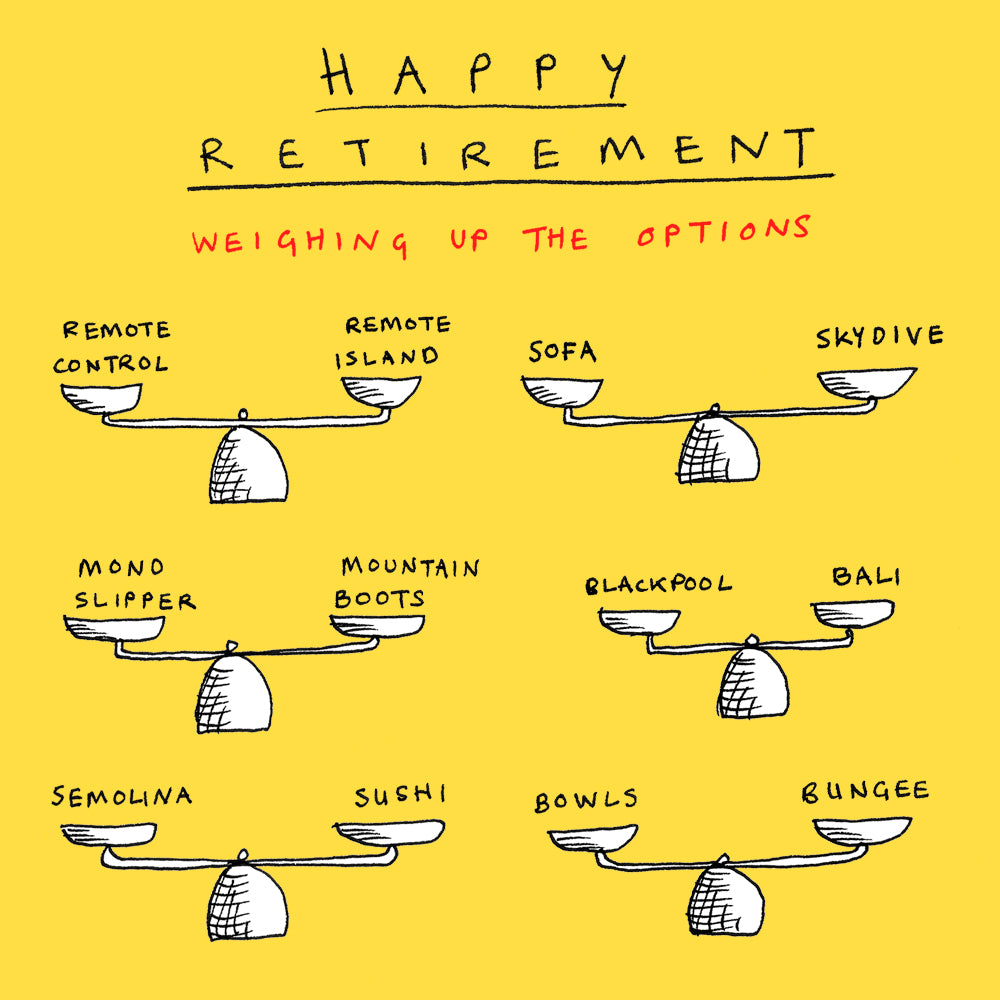 Retirement Options FP209Poet & PainterCards