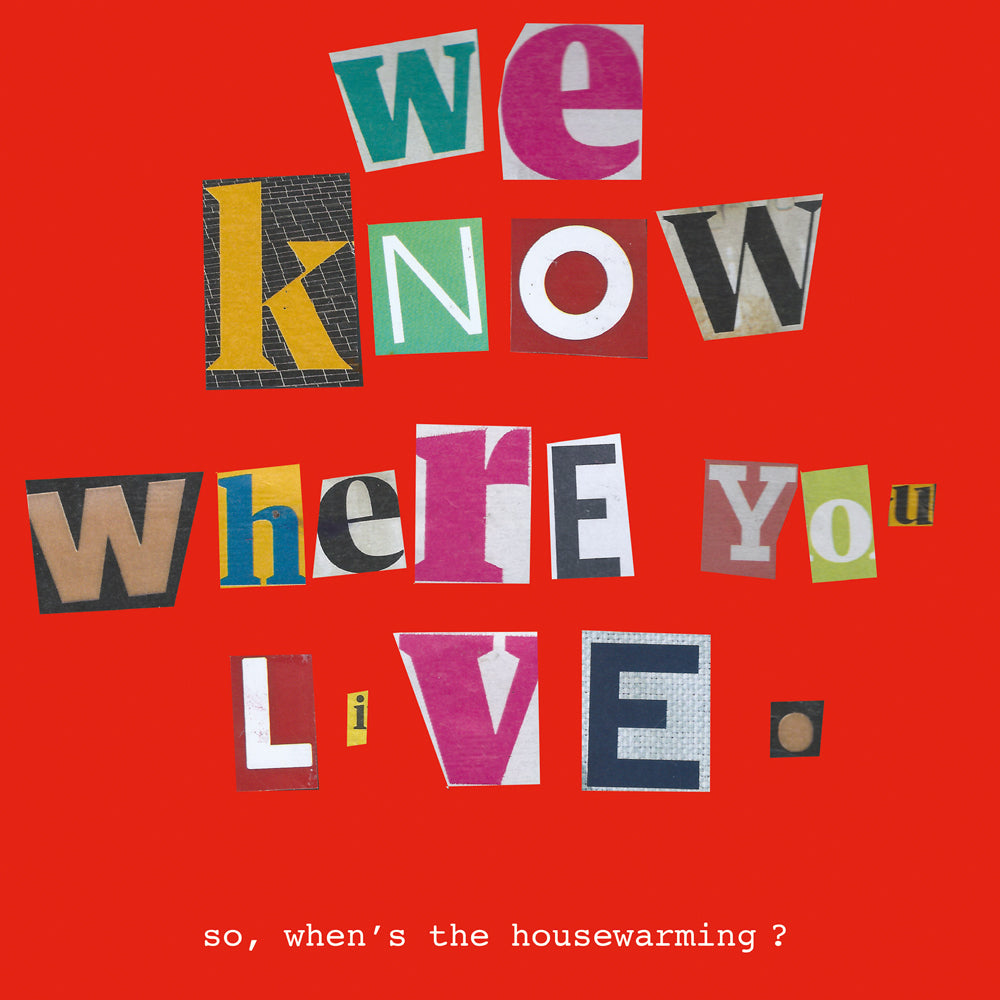 New Home - Where you live FP237Poet & PainterCards