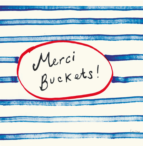 Merci Buckets - Pack of 6 Notecards FP457Poet & Painter