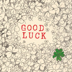 Good Luck Clover FP47Poet & PainterCards
