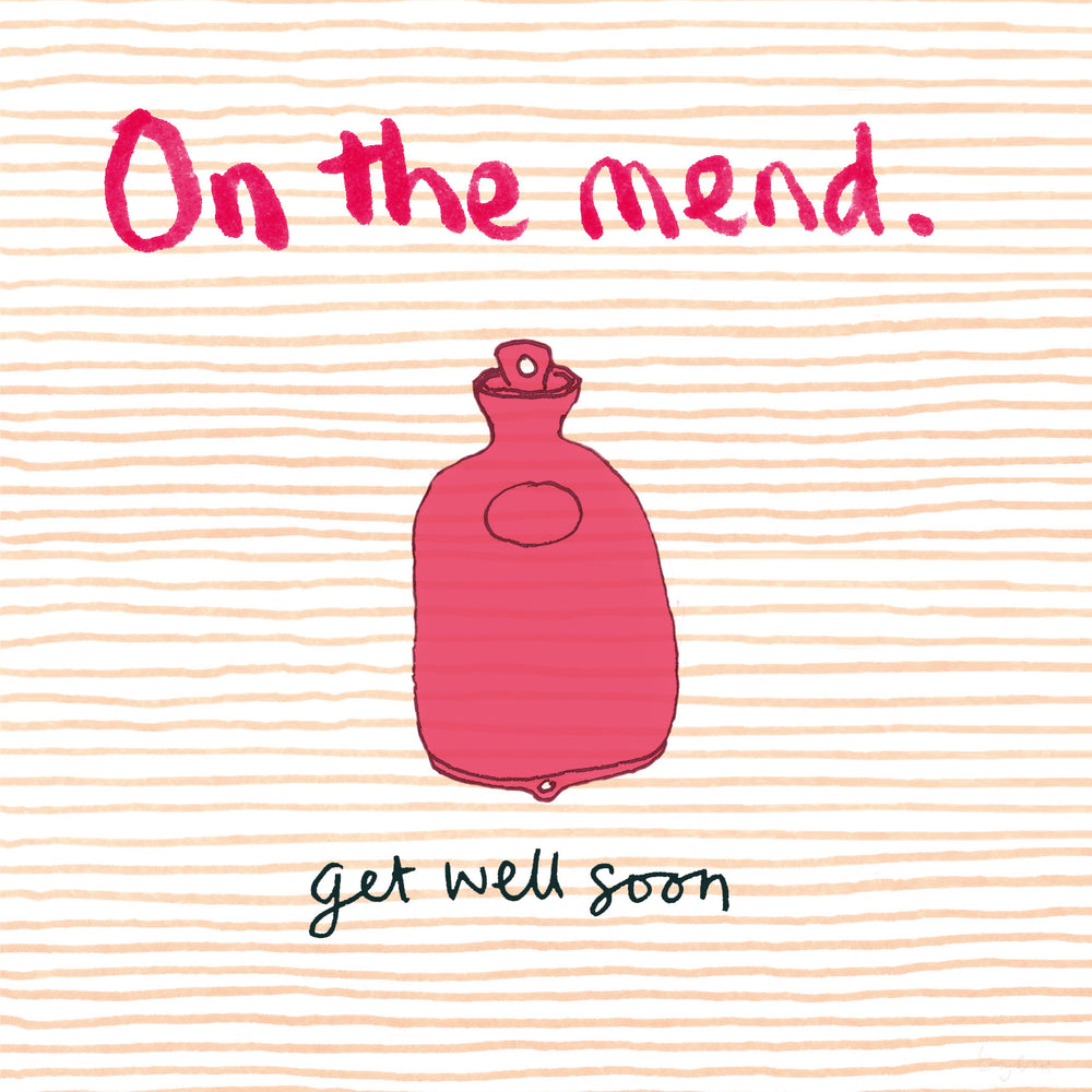 On the Mend/Get Well Soon FP49Poet & PainterCards