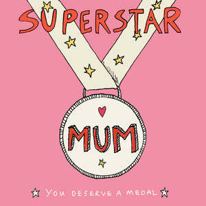Load image into Gallery viewer, Superstar Mum, FP532Poet & PainterCards