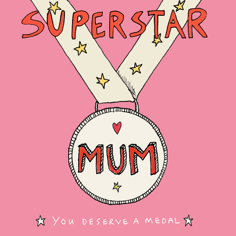 Superstar Mum, FP532Poet & PainterCards
