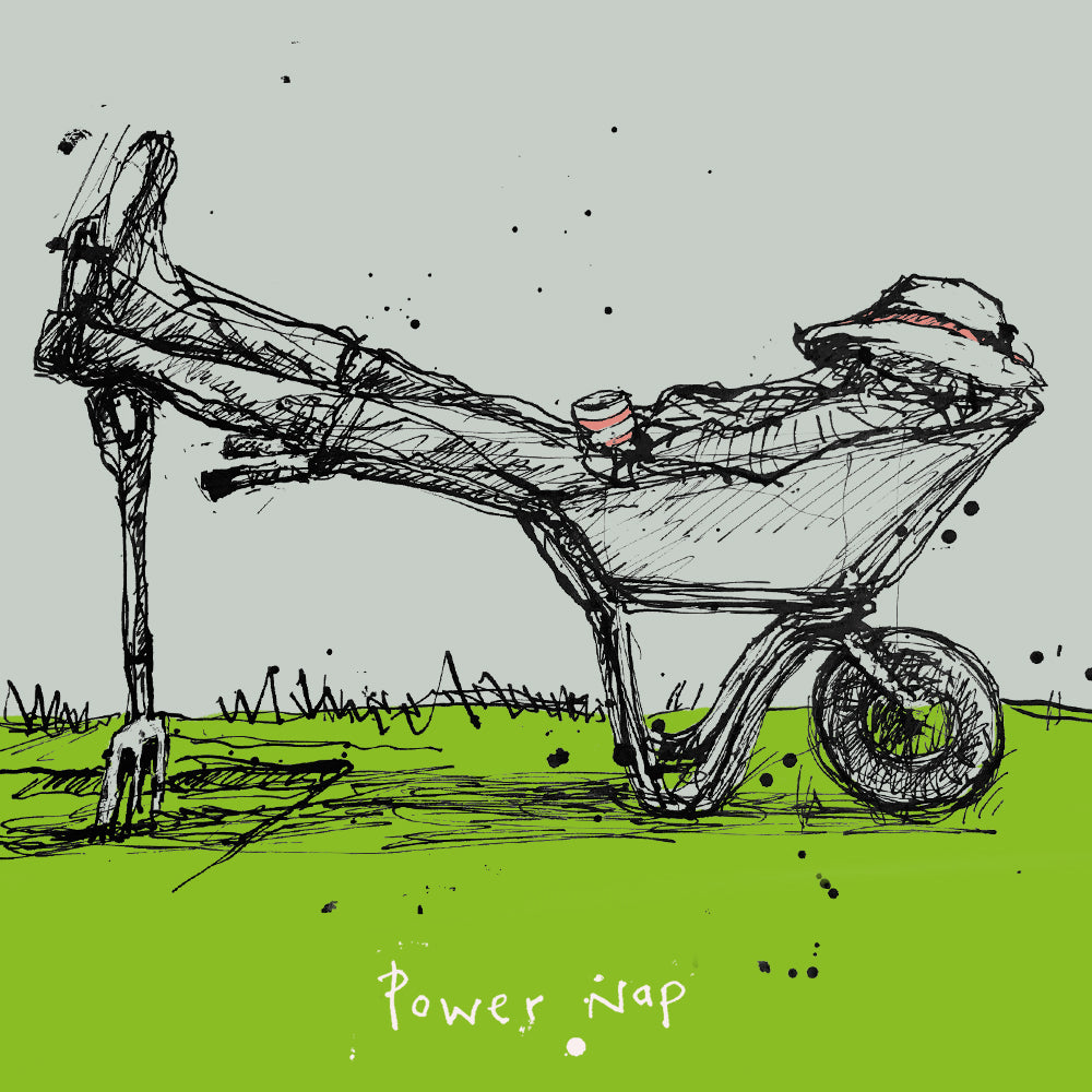 'Power nap' FP665Poet & PainterCards