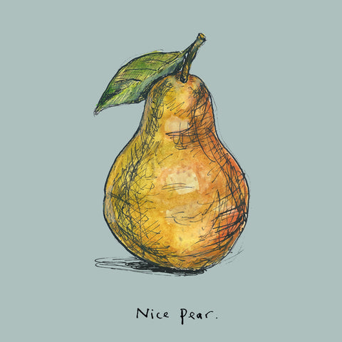 'Nice Pear' FP667Poet & PainterCards