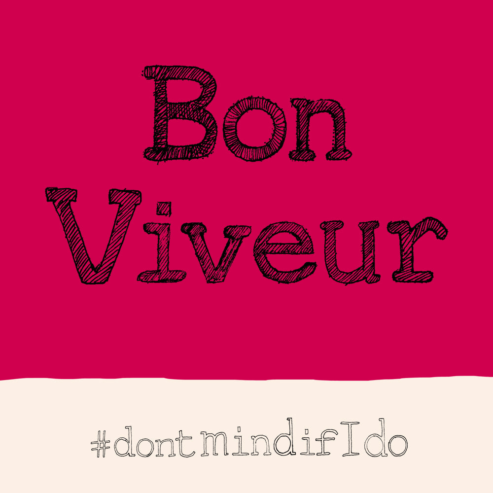 Bon Viveur Card  FP668Poet & PainterCards