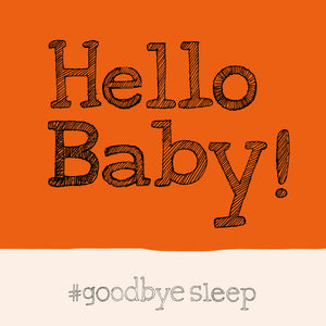 Hello Baby Card  FP670Poet & PainterCards