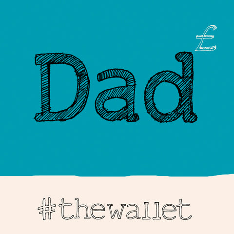 'Dad ' Wallet Hashtag FP694Poet & PainterCards