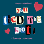 'Tie the Knot' Greetings Card, Ransom