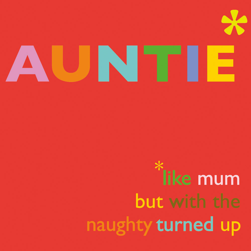 'Auntie' card, FP722