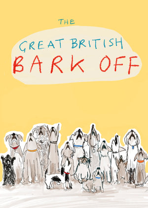 Great British Bark Off postcard, FP785