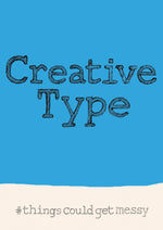Creative Type postcard, FP790