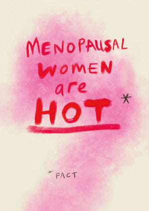Load image into Gallery viewer, Menopausal Women postcard, FP791