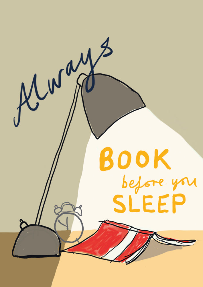Book Before Sleep postcard, FP796