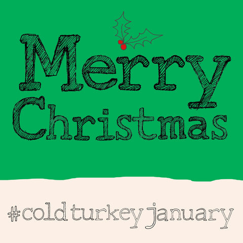 'Christmas-Turkey' hashtag card, FP841