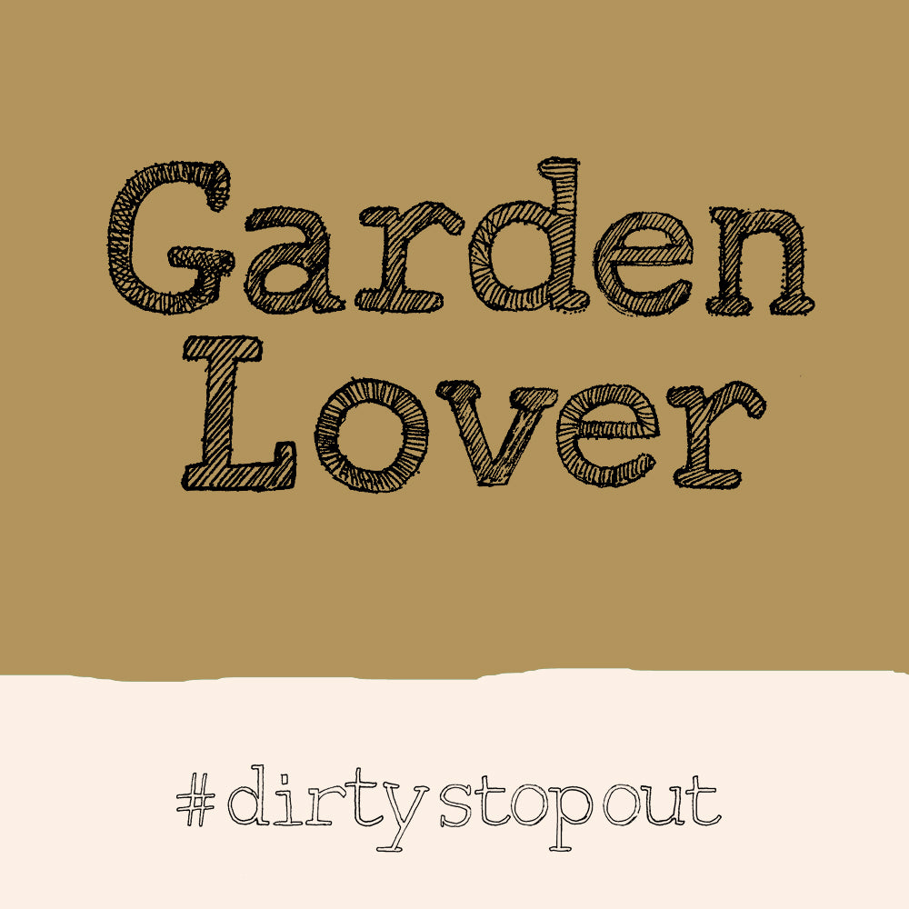 'Garden Lover' Greetings Card, Hashtag