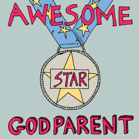 'Awesome Godparent' Medal, FP924