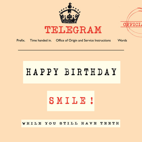 'Birthday' Telegraphic, FP933