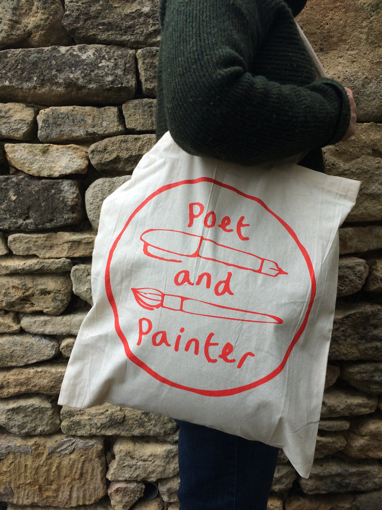 Poet & Painter Tote Bag