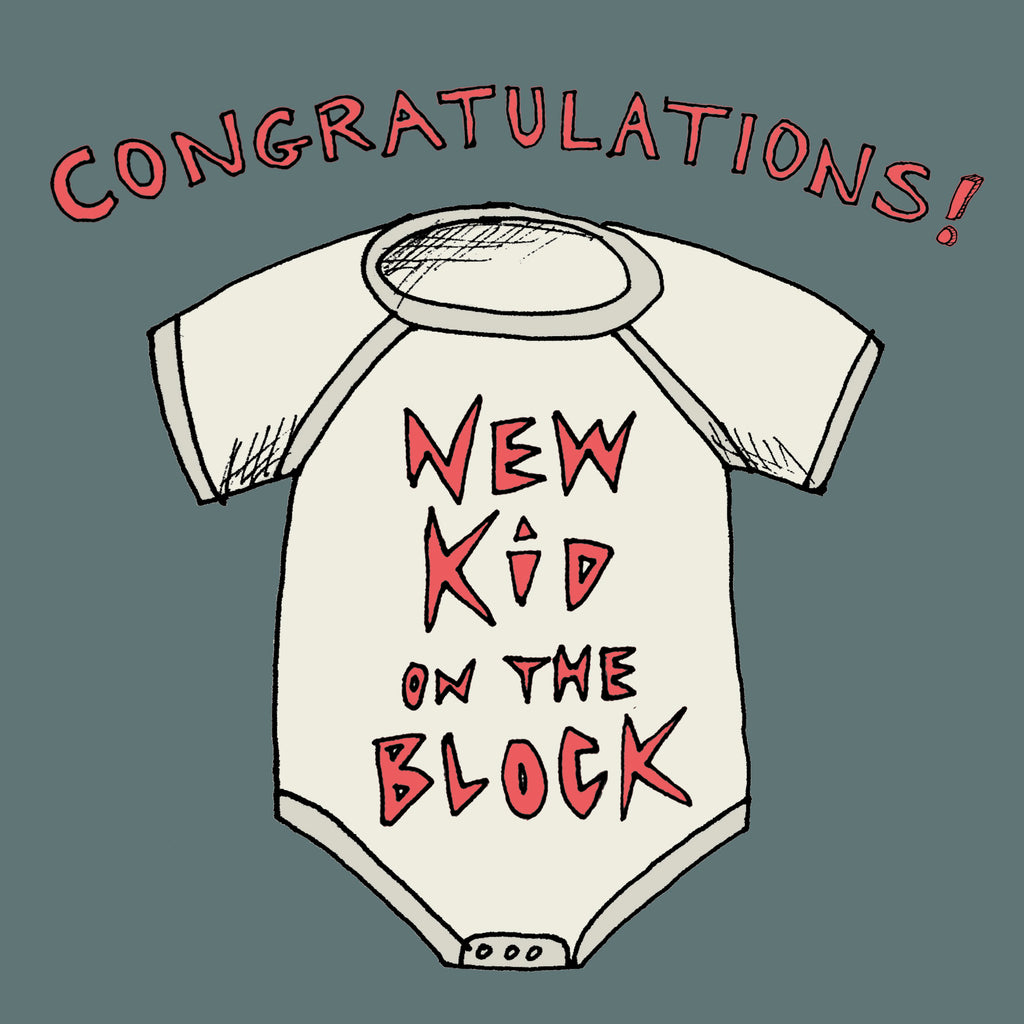 New Kid on the Block Card  FP624