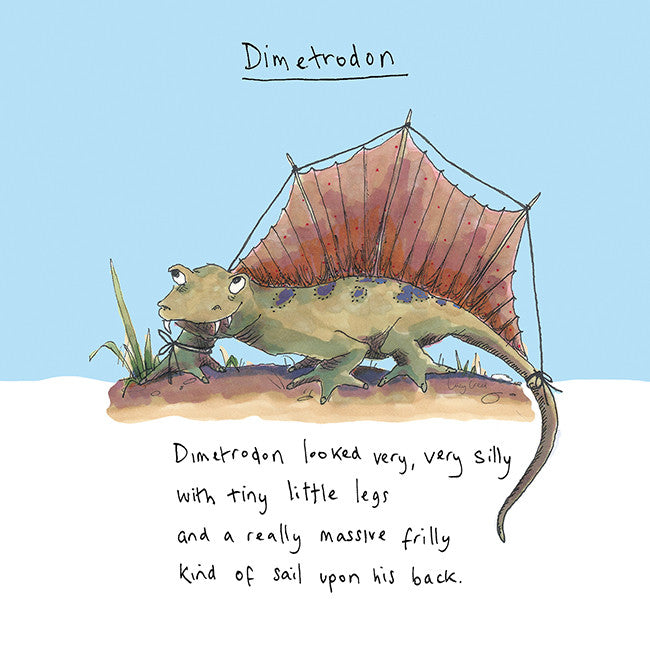 Dimetrodon Card FP16Poet & PainterCards