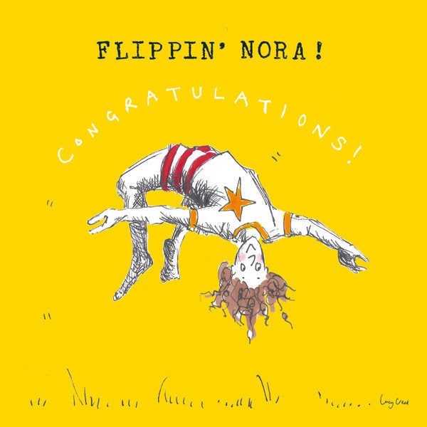 Flippin' Nora FP43Poet & PainterCards
