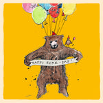 'Happy Bear Day' Greetings Card, Studio