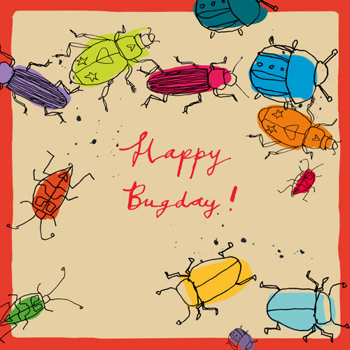 'Happy Bug Day' Greetings Card Studio