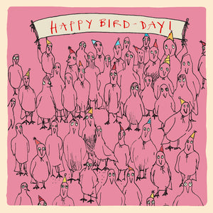Load image into Gallery viewer, 'Happy Bird-Day' Greetings Card, Studio