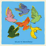 'Wingin' It Beautifully' Greetings Card,Studio