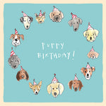 'Puppy Birthday' Birthday Card,Studio